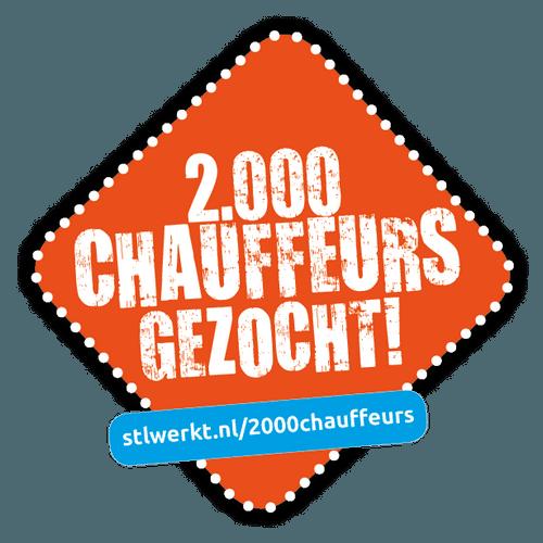 2000 chauffeurs gezocht!