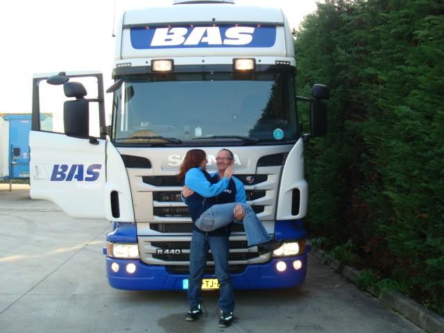 Samen op reis voor Bas.