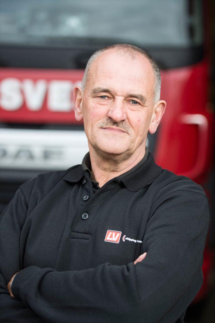 Chauffeur Rob van der Giessen