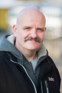 Gertjan Vonk, 48, woont in Veenendaal, chauffeur, 19 jaar bij Van Heugten Transport